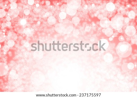 An abstract party style background with bright stars and defocused lights effect