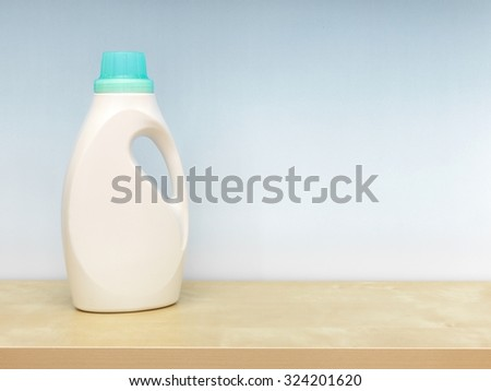 An abstract photo of traditional laundry detergent - stock photo