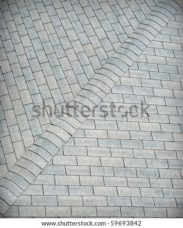 An abstract view of a rooftop. - stock photo