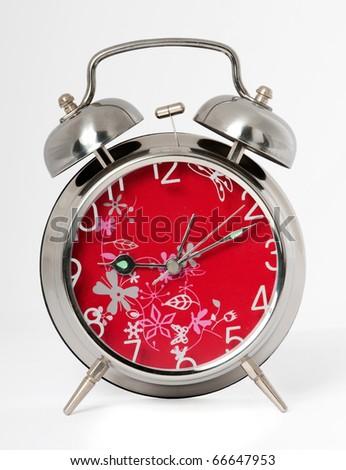 An alarm clock - stock photo