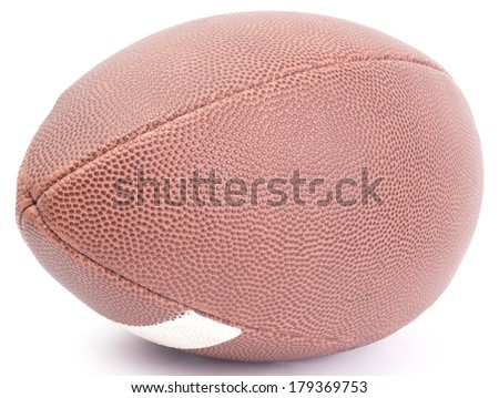 an american football ball