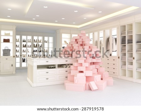 Luxury Closet Stock Images Royalty Free Images Amp Vectors Shutterstock