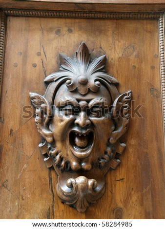 An Antique Door Knocker