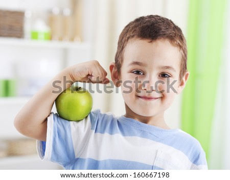 An apple a day keeps doctor away - stock photo