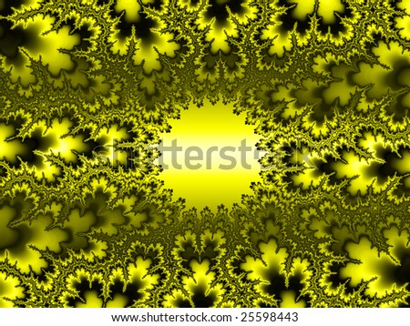 An artistic colored fantasy fractal background