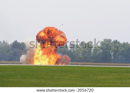 An explosion