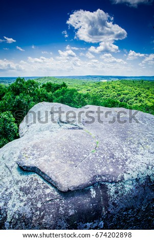 Garden Of The Gods Background Stock Images Royalty Free