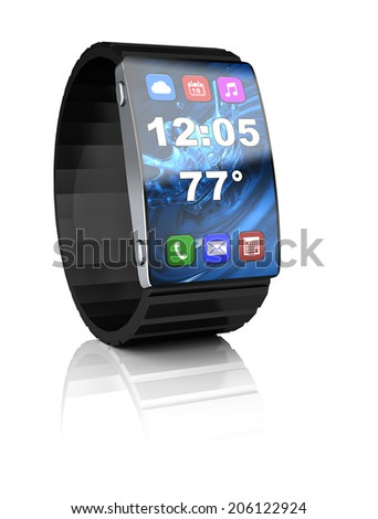 An ideal smart watch with all it's modern functions