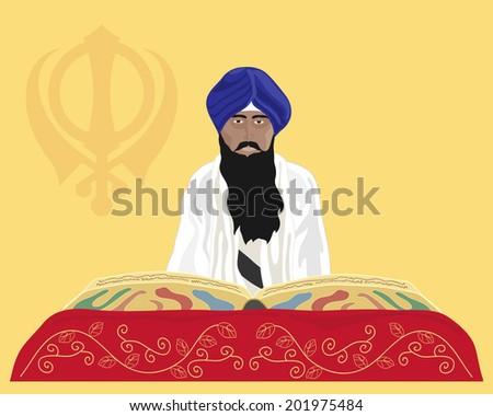 Holy Book Guru Granth Sahib Ji