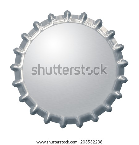 An image of a bottle cap background - stock photo