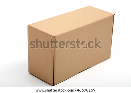 An image of a brown cardboard box