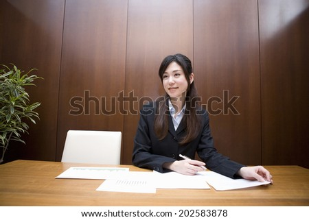 An Image of A Businesswoman