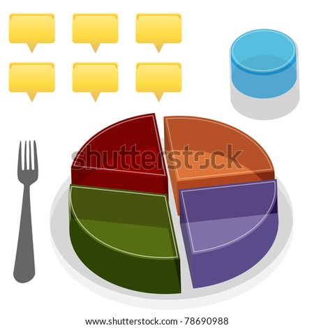 An image of a food plate guide.