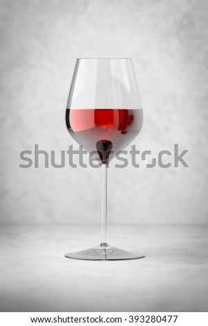 An image of a glass of red wine