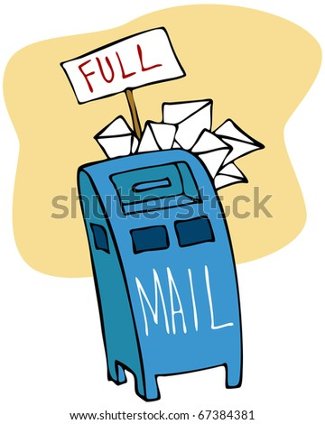 Full Mailbox Stock Images, Royalty-Free Images & Vectors ...