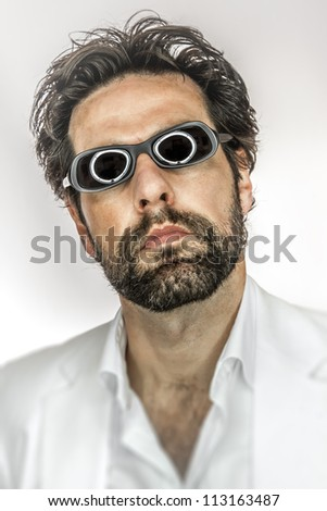 An image of a man with cool sun glasses