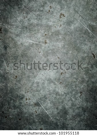 An image of a nice grunge metal plate background - stock photo