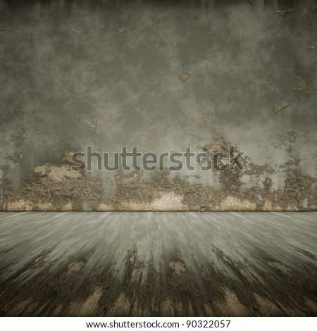 An image of a nice rusty floor for your content - stock photo
