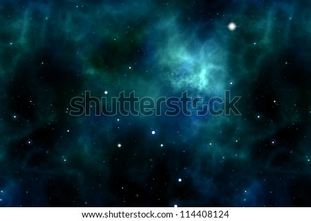 An image of a space and stars background - stock photo