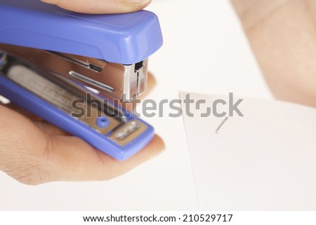 An Image of A Stapler