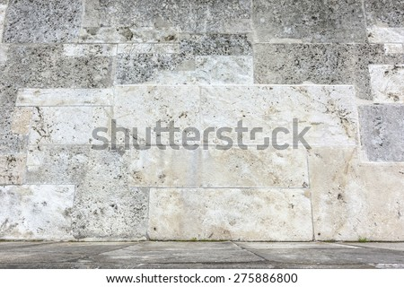 An image of a stone wall background