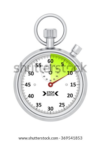 An image of a typical stopwatch 10 seconds