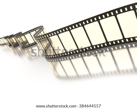 An image of a vintage film strip