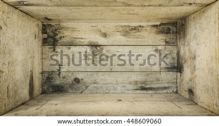 An image of a wooden box background - stock photo
