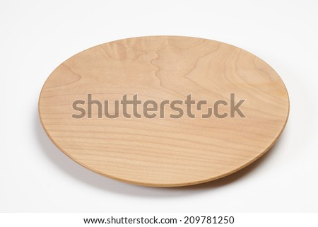 An Image of A Wooden Dish