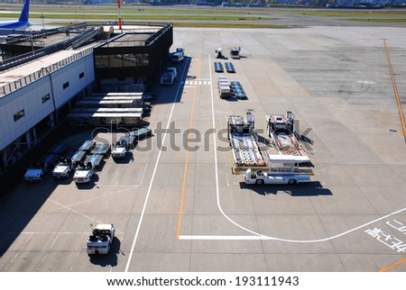 An image of Airport transportation system