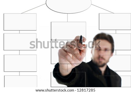 An image of businessman with pen