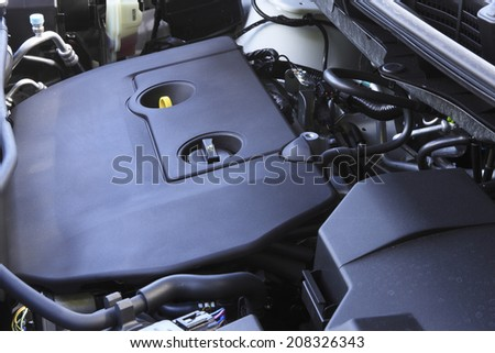 An Image of Car Engine