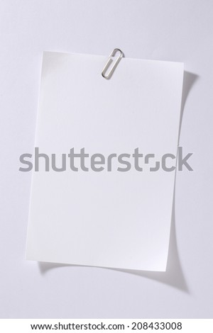 An Image of Clip And Paper