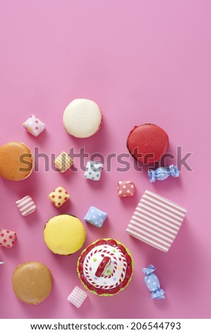An Image of Colorful Sweets