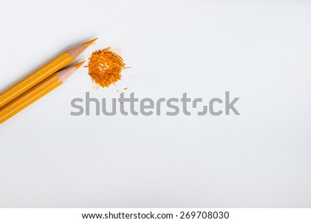 an image of colourful pencils on hite background
