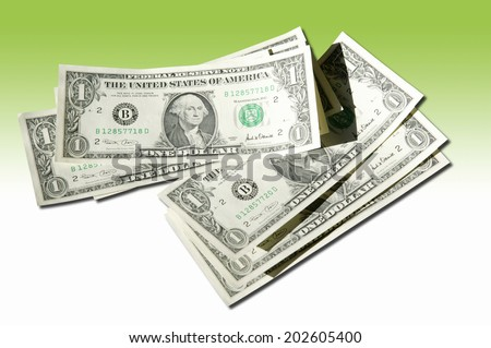 An Image of Dollar Bill