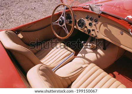 An Image of Driver'S Seat
