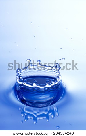 An Image of Drop Of Water