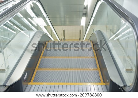 An Image of Escalator