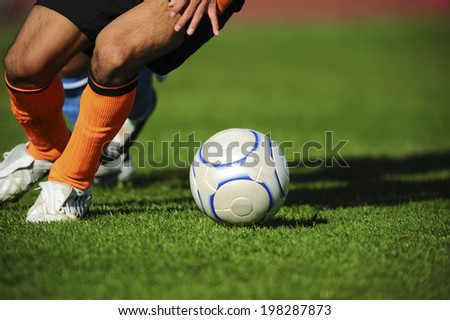 An Image of Football