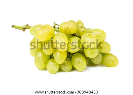an image of fresh green grapes
