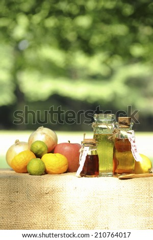 An Image of Fruit Vinegar