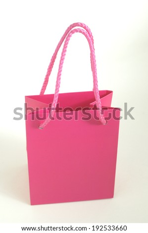 An image of Gift shopping bag