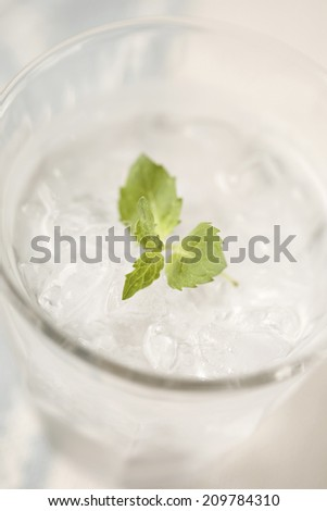 An Image of Glass Of Water