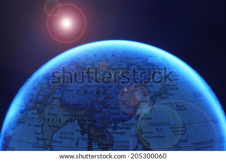An Image of Globe