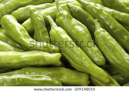 An Image of Green Pepper