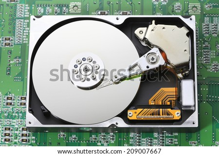 An Image of Hard Disk
