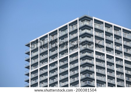 An Image of High-Rise Apartment