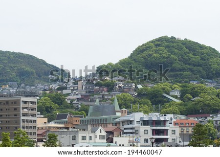 An image of Houses in Japan