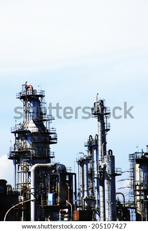 An Image of Industrial Area